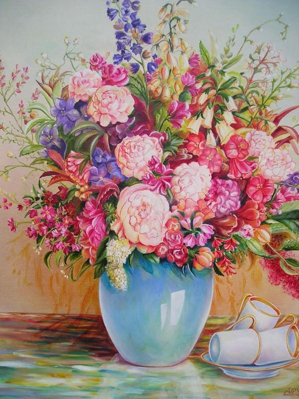 Bouquet à la tasse