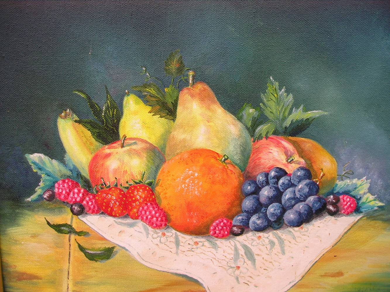 Coupe de fruits 2 jp viguier artiste peintre - Jeux ou on coupe des fruits ...