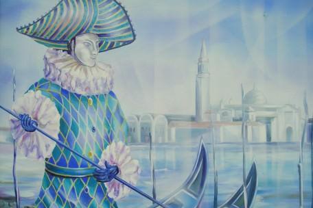 Gondolier à Venise