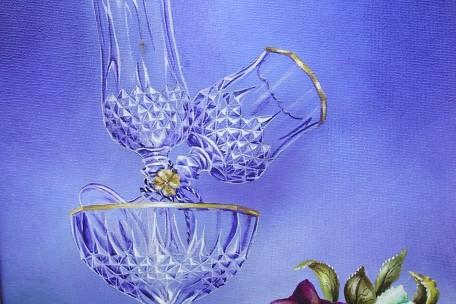 Les verres de crystal