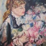 La femme aux lilas
