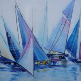 VOILIERS (40x40)